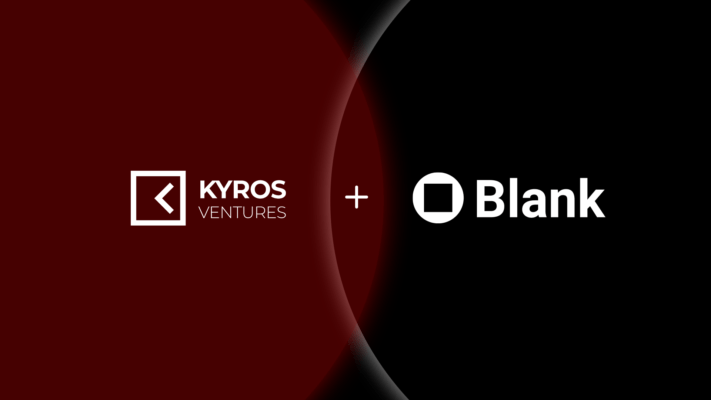 Kyros investment in Blank