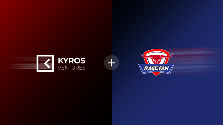 Kyros Ventures invests in Rage.Fan, uniting sports fans in the decentralized world